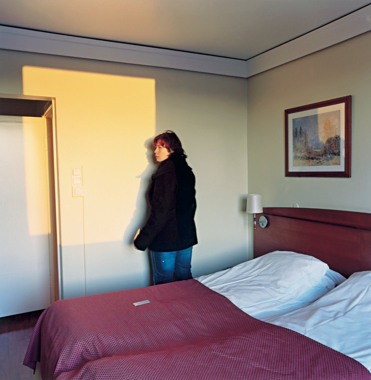 Vic Hotel 19:28, 2008, C-print, 65 x 65 cm