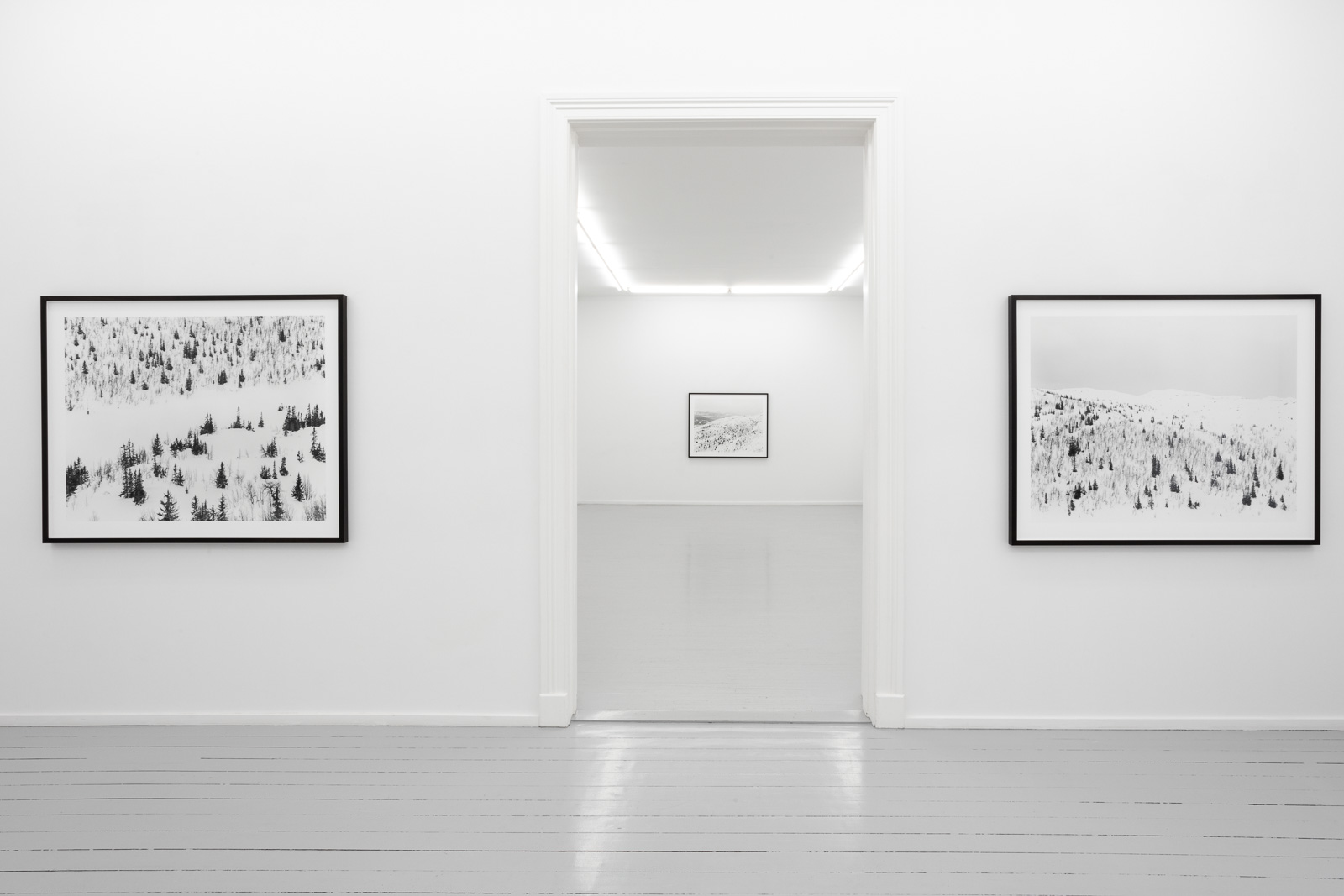 Installation view, Per Berntsen, 'May 1985. Landscapes from Eggedal.' May 15 - June 13, 2020.