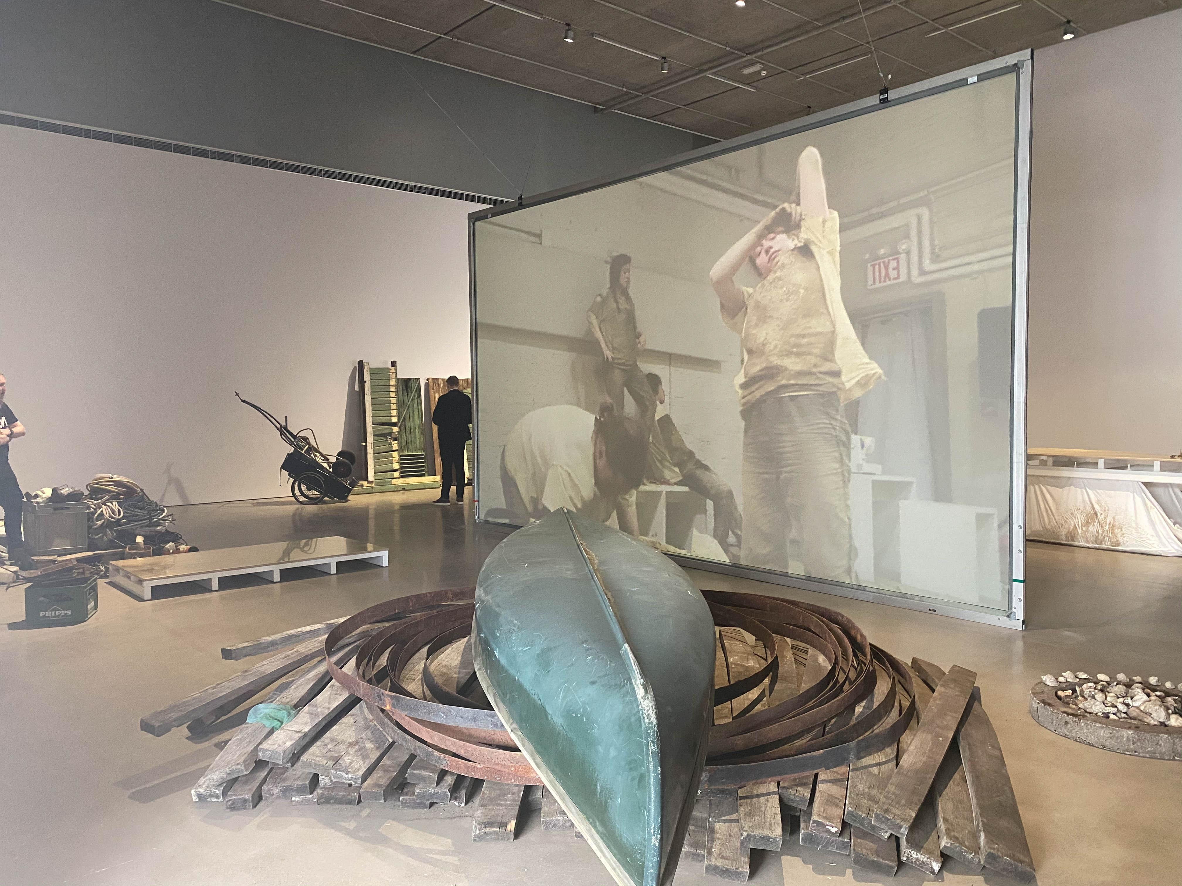 Installation view Éva Mag 'Det finns en plan för det här', Bonniers Konsthall, Stockholm 2020Photo: Jean-Baptiste Béranger / Courtesy Bonniers Konsthall