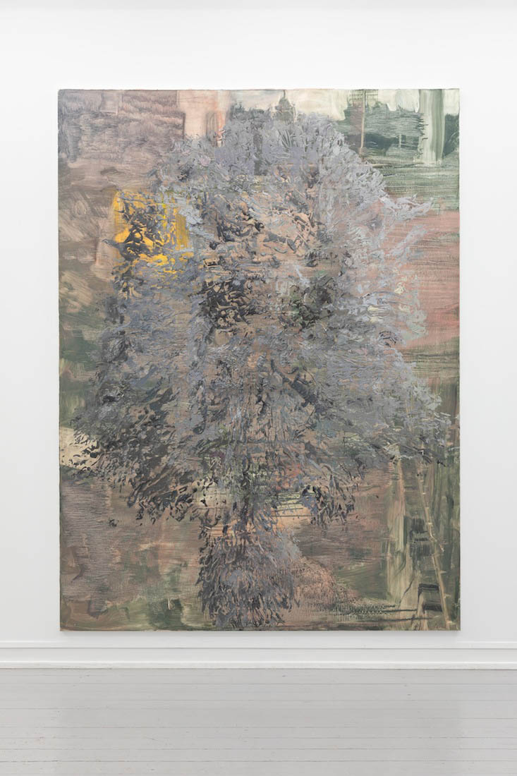 Bigger Half, raised (general assembly), 2013. Oil on canvas, 274 x 203 cm