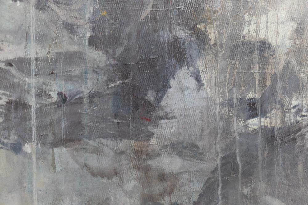 Bigger Half, flat (detail), 2013. Oil on canvas, 274 x 203 cm