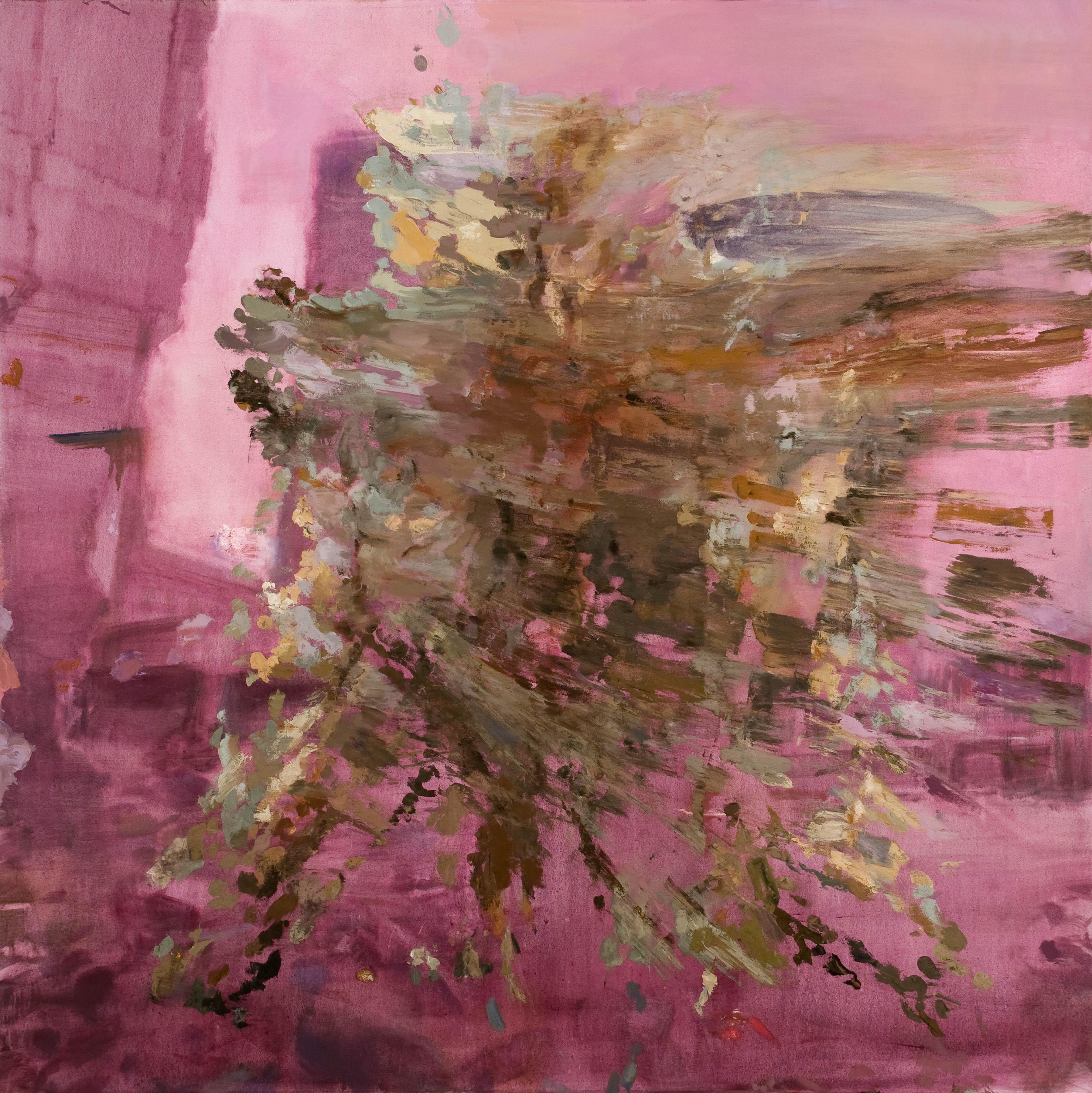 A Rebound, Extrovert, 2013, Oil on canvas, 213 x 213 cm