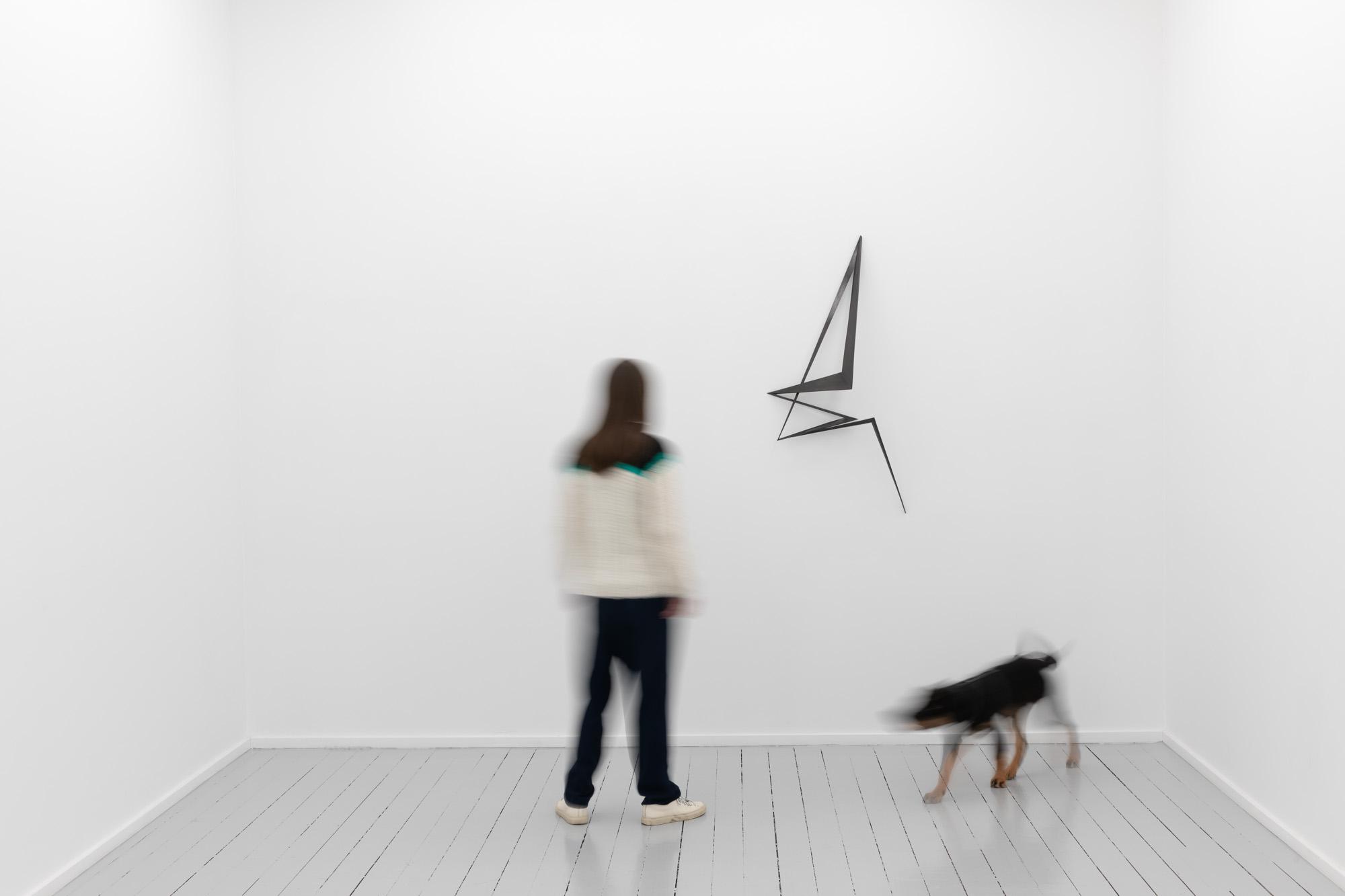 The Weaver's Stroke, 2020, Patinated bronze, H 119 x B 59 x D 20,5 cm, Ed. 3 + 1 AP