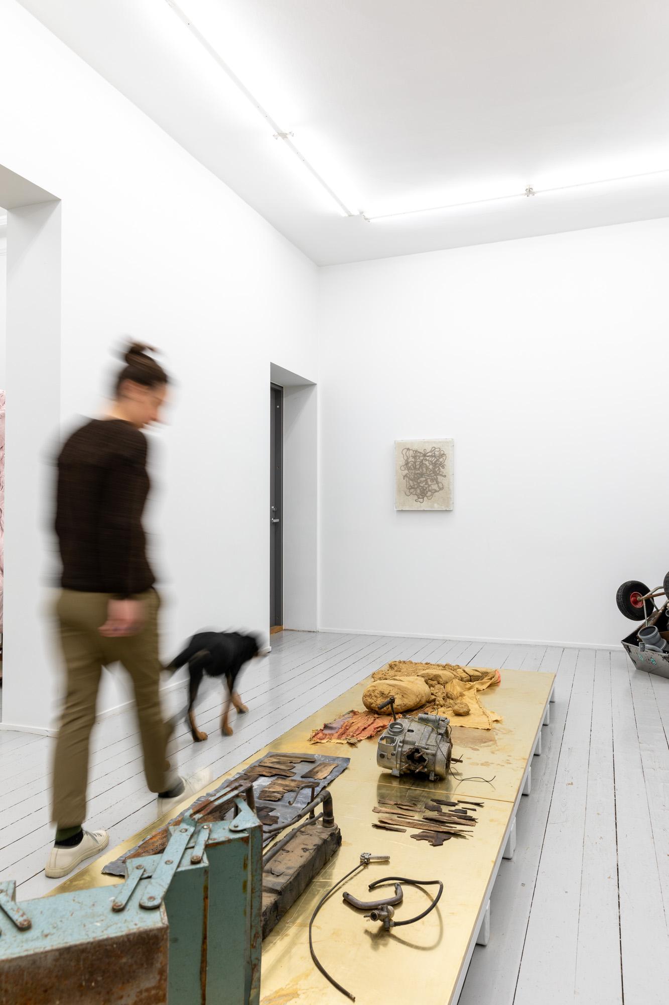 Installation view, Éva Mag, Det finns en plan för det här, 2020/2021, Galleri Riis