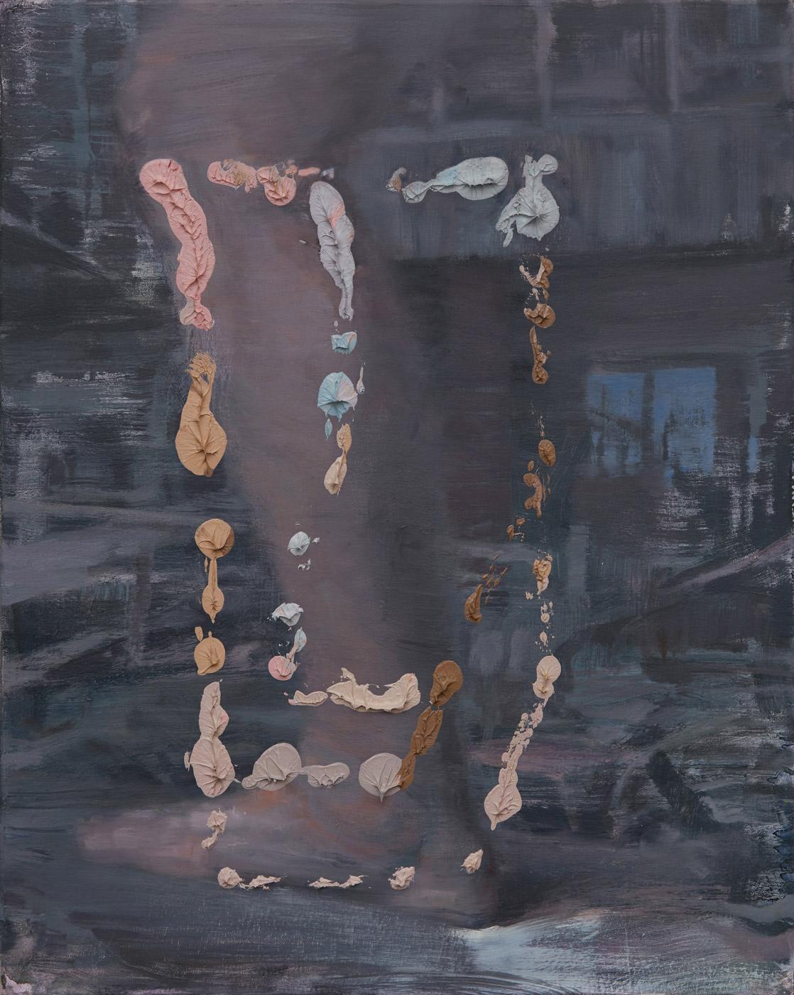 The Last Y (interior), 2020, Oil on canvas, 76 x 61 cm