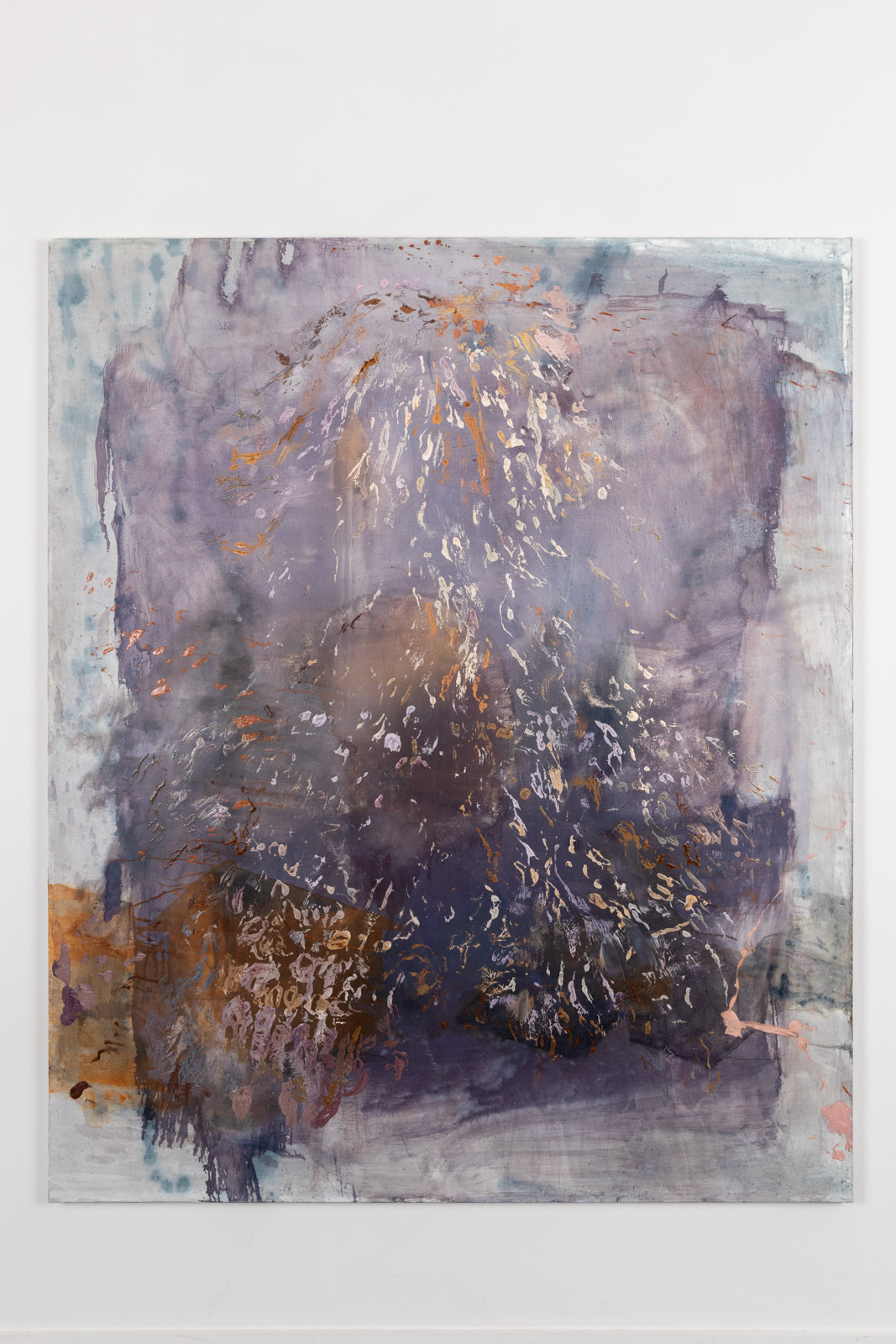 Ra Noor, 2020, Oil on canvas, 182,8 x 152,4 cm