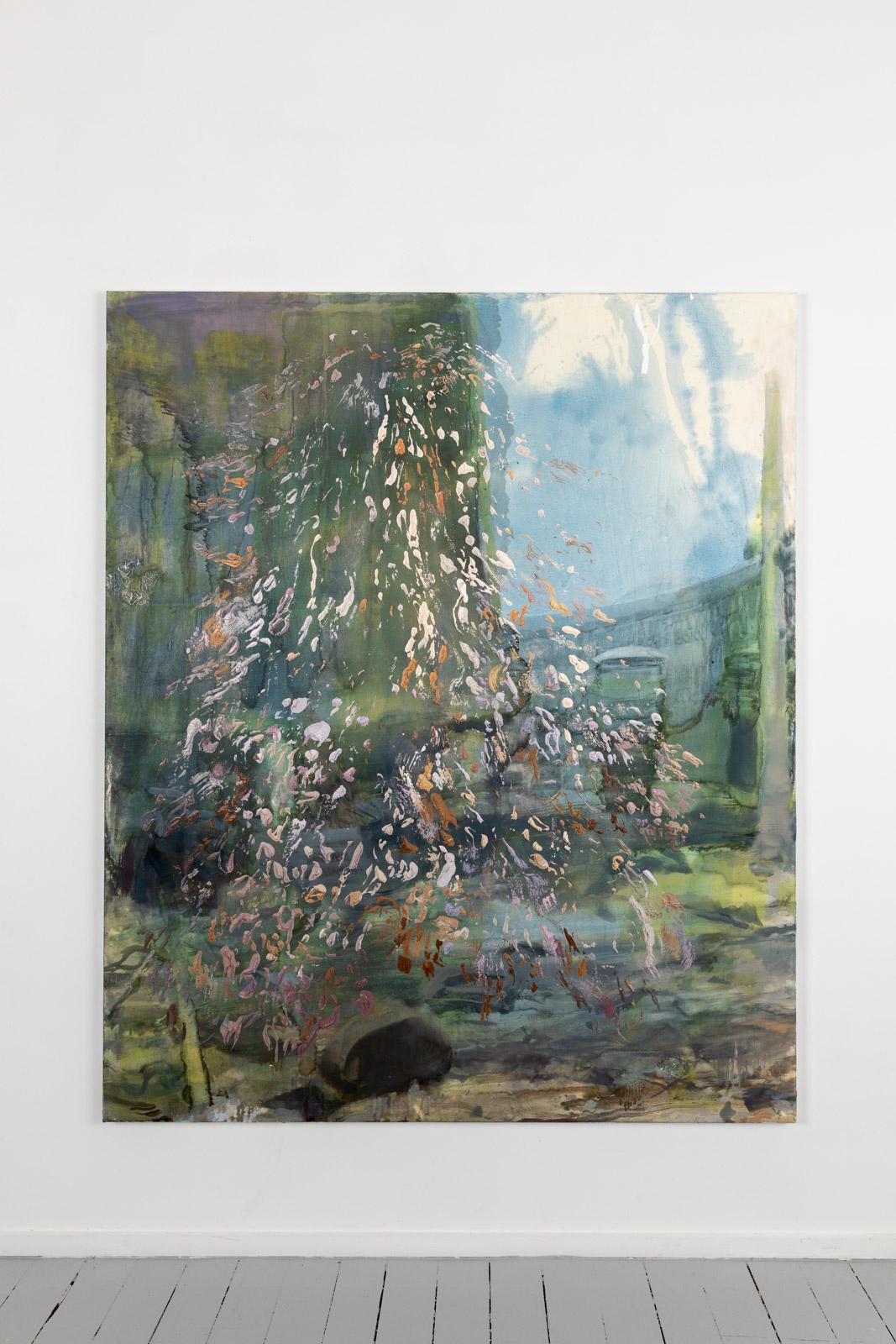 Ra Tektonisk, 2020, Oil on canvas, 182,8 x 152,4 cm