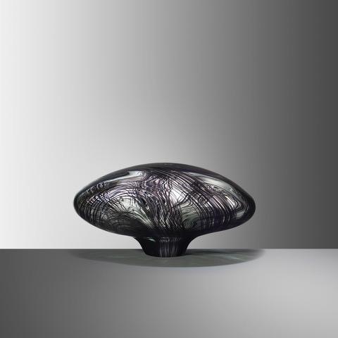 Stone II, 2019, Blown glass, H:20 W:37 D:27 cm