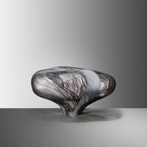 Stone XXV, 2019, Blown glass, H:23 W:37 D:26 cm