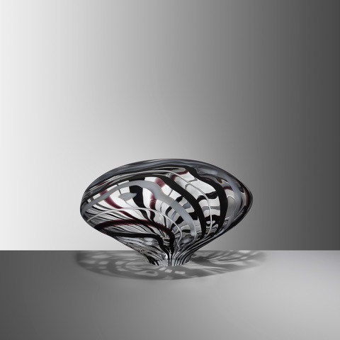Stone VI, 2019, Blown glass, H:20 W:33 D:25 cm