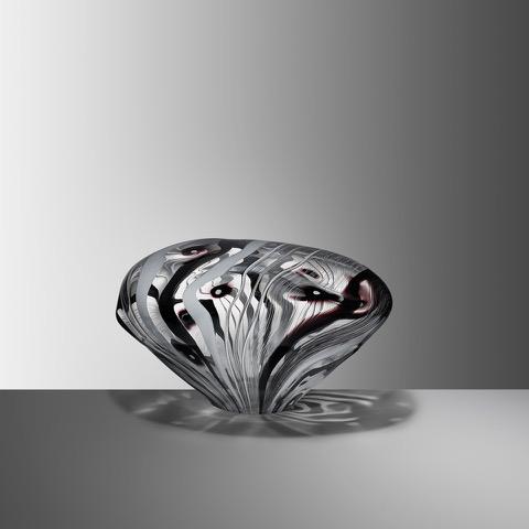 Stone VII, 2019, Blown glass, H:21 W:33 D:24 cm