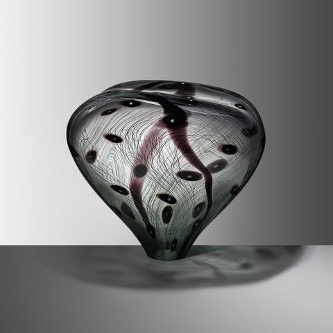 Stone XXIII, 2019, Blown glass, H:39 W:42 D:33 cm