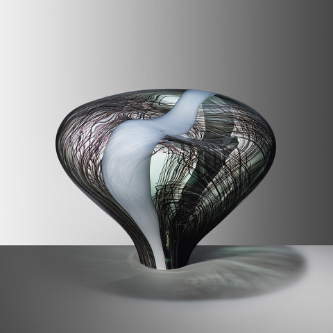Stone XVIII, 2019, Blown glass, H:33 W:41 D:33 cm