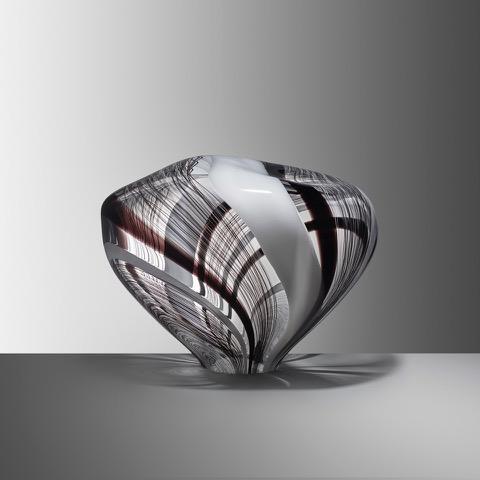 Stone XX, 2019, Blown glass, H:28 W:35 D:26 cm