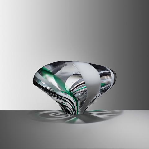 Stone XII, 2019, Blown glass, H:22 W:36 D:29 cm