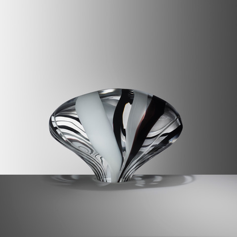 Stone IV, 2019, Blown glass, H:26 W:35 D:26 cm