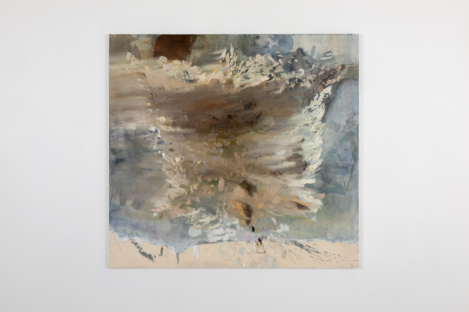 Compass II, 2020, Oil on canvas, 152,4 x 162,5 cm