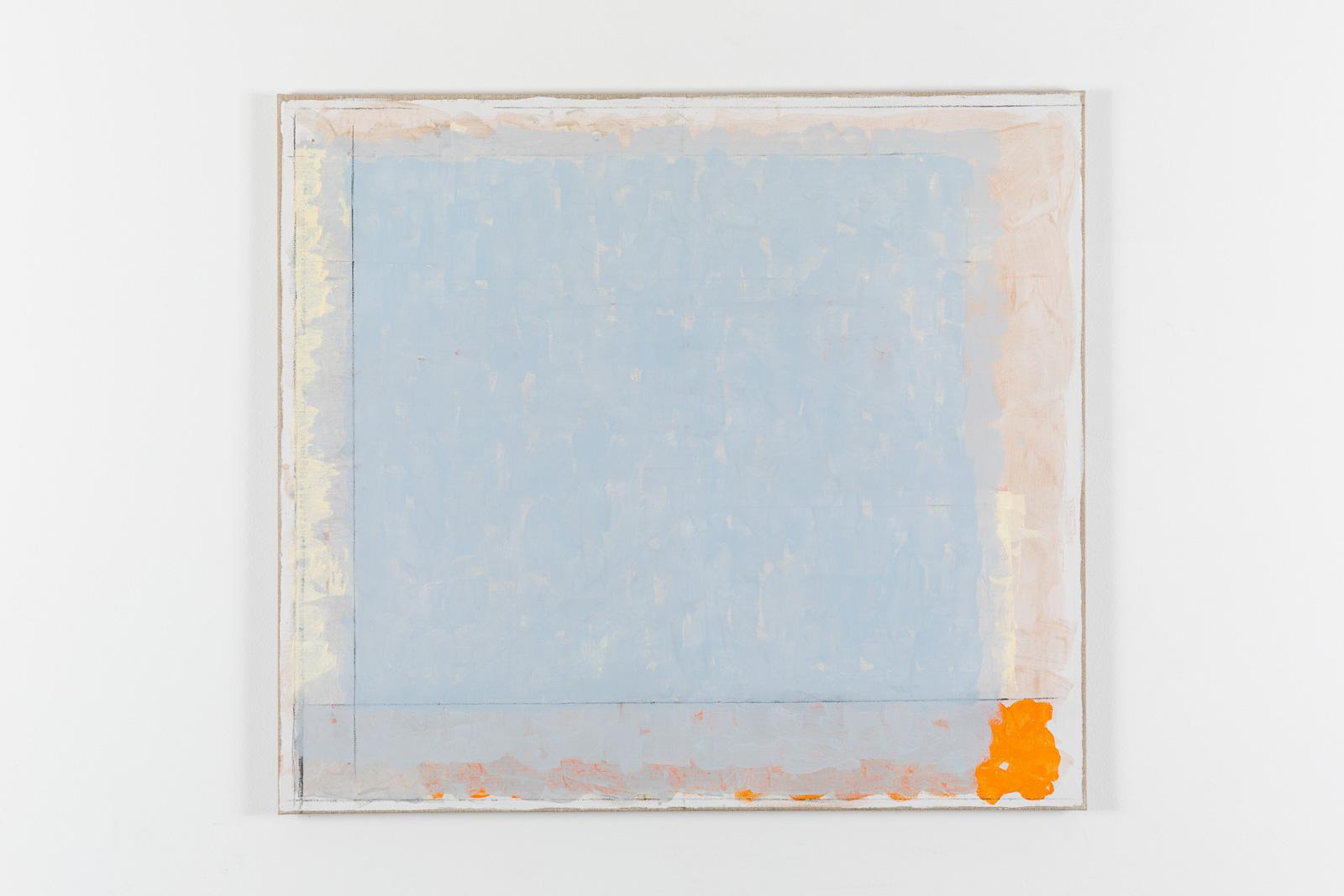 Vila Ziza 14, 2018, Egg tempera on canvas, 80 x 90 cm