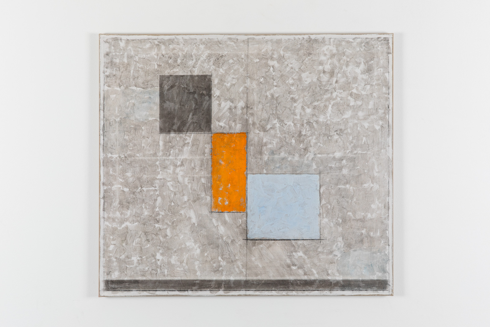 Vila Ziza 21, 2018, Egg tempera on canvas, 80 x 90 cm
