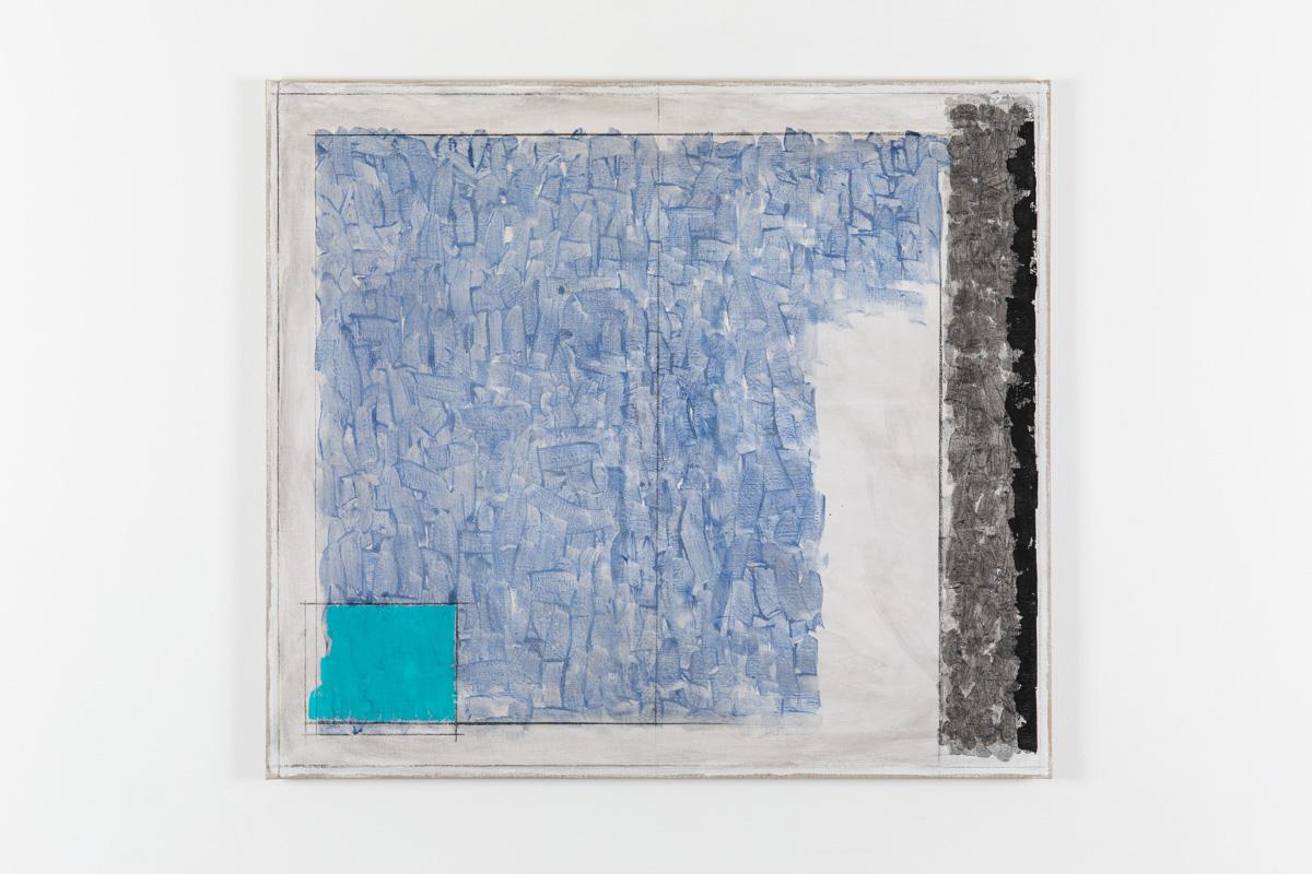 Vila Ziza 25, 2018, Egg tempera on canvas, 80 x 90 cm