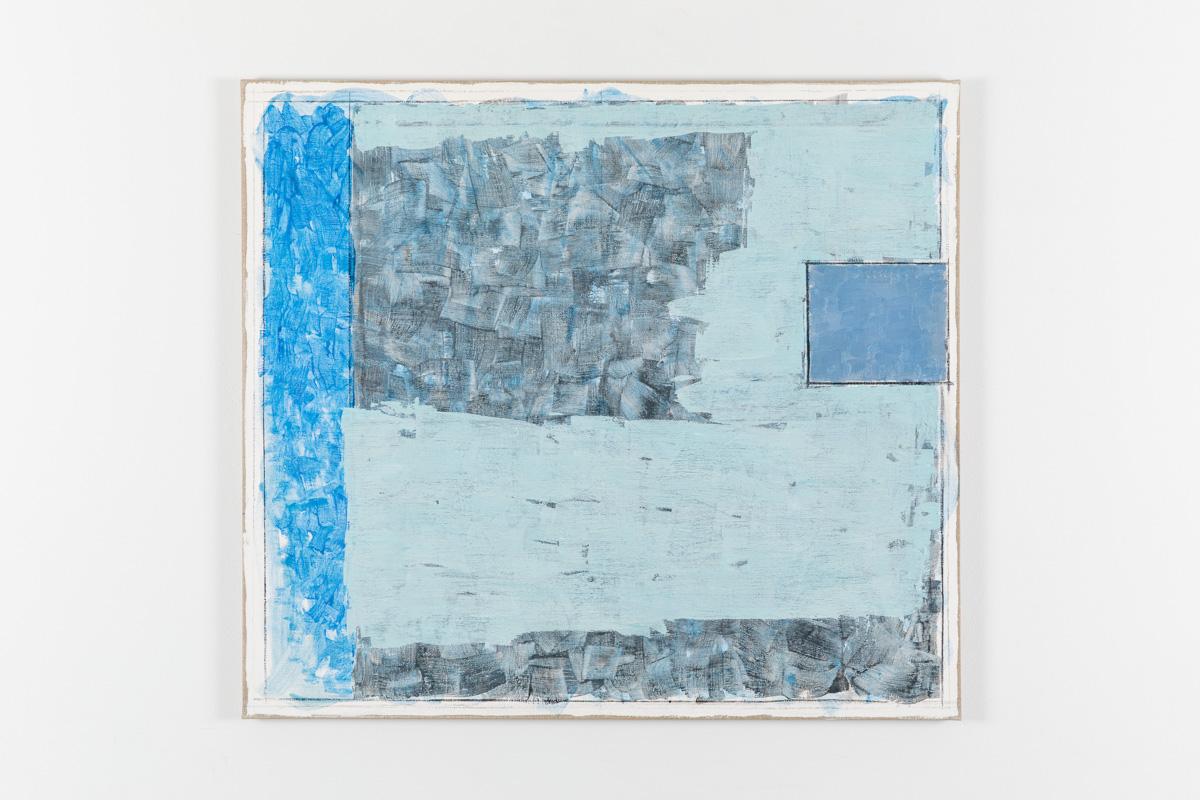 Vila Ziza 26, 2018, Egg tempera on canvas, 80 x 90 cm