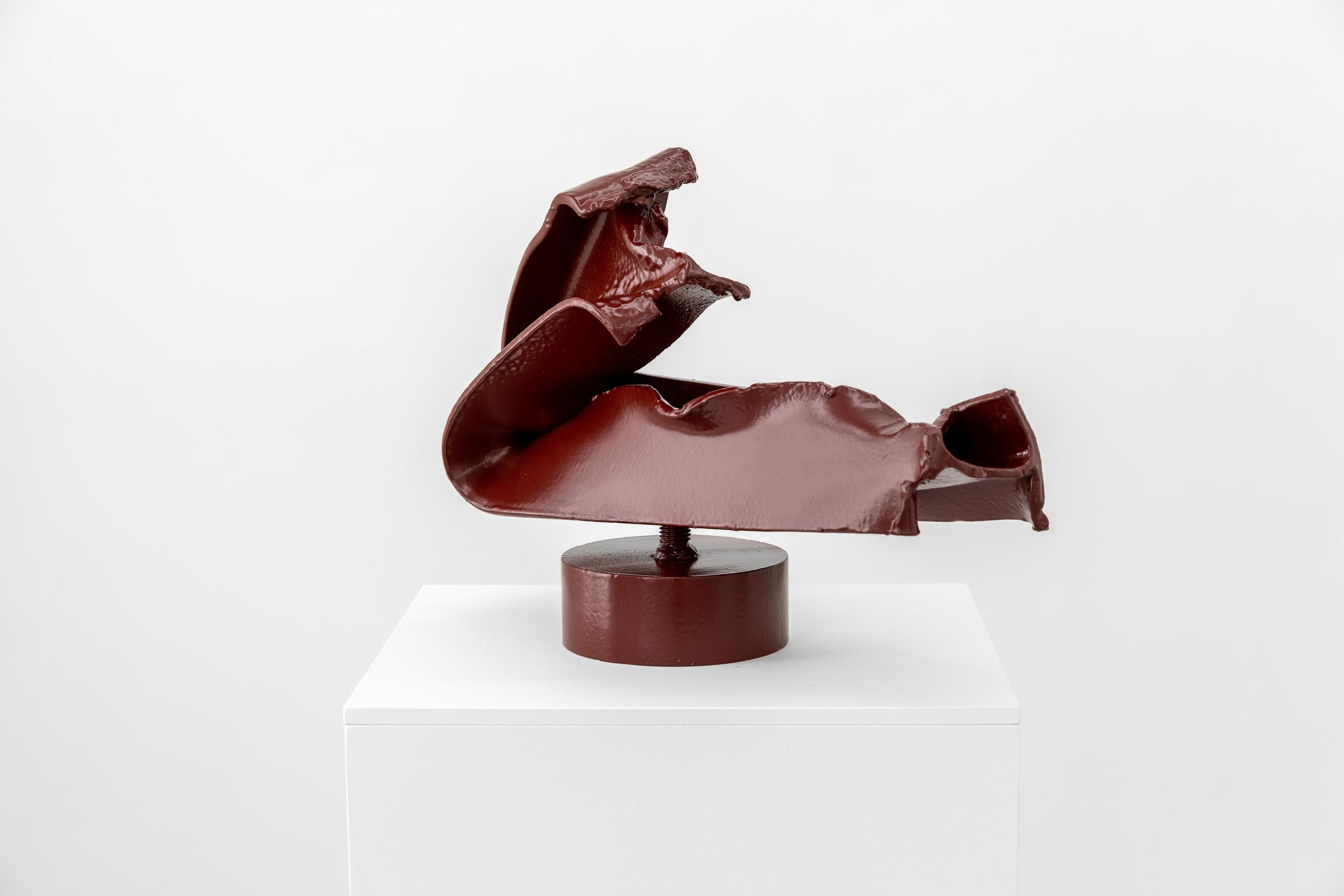 Rodin's Elbow, 2021, Painted steel, 36 x 50 x 19 cm