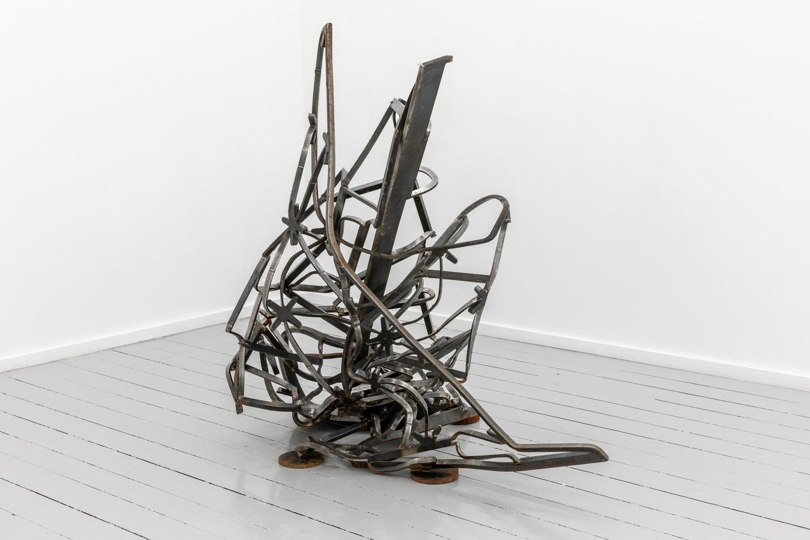 Tatlin, 2021, Steel, 115 x 106 x 84 cm