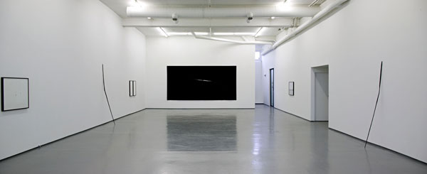 """Installation view Jan Groth """"New Works"""", August 24 - October 1, 2006, Galleri Riis Oslo"""