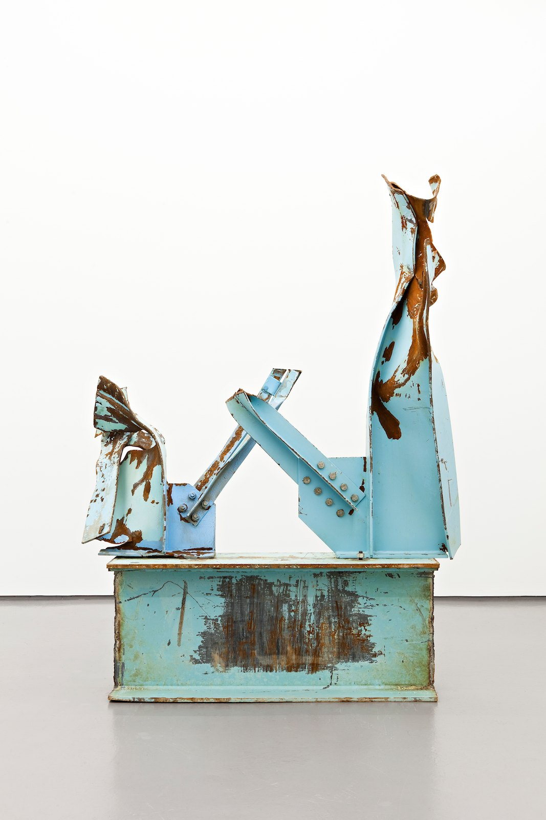 Miramichi 18, 2010, steel, 246 x 180 x 75 cm