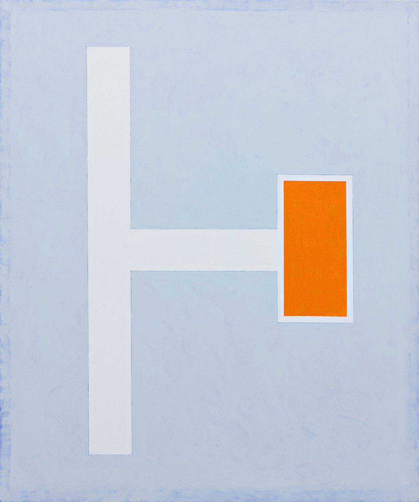 Dead end street II, 2010, acrylic on canvas, 145 x 120 cm