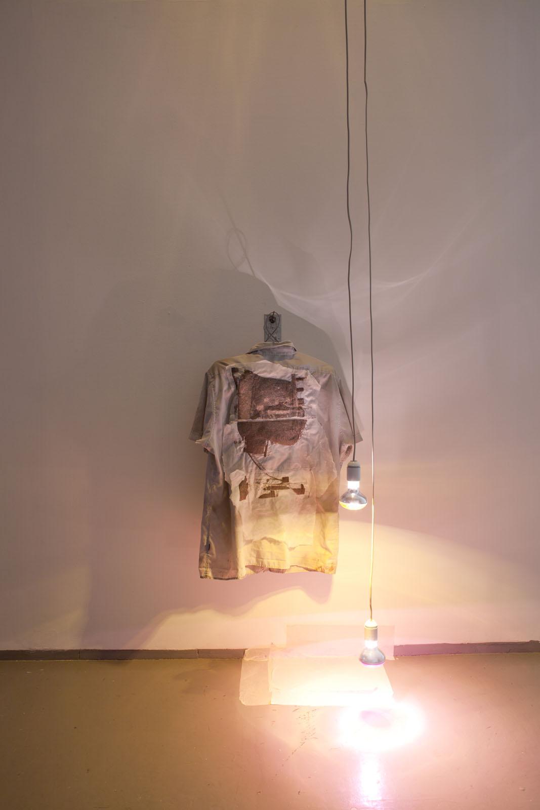 Brother (RR- 60011) + Kontrapost, shirts, 2010, shirts, disco spots, paper, iron