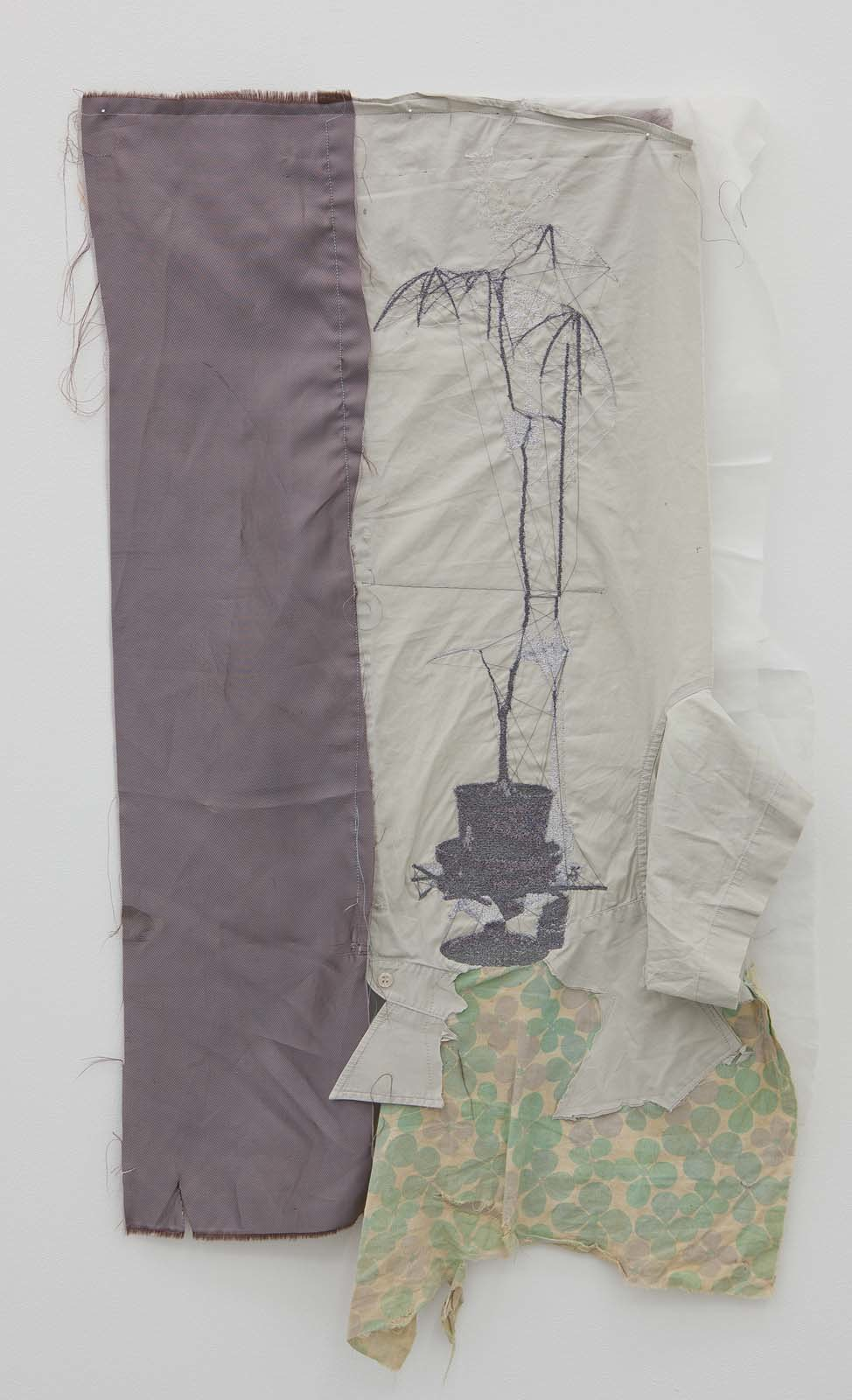 Sustainable, 2010, embroidery on various textiles