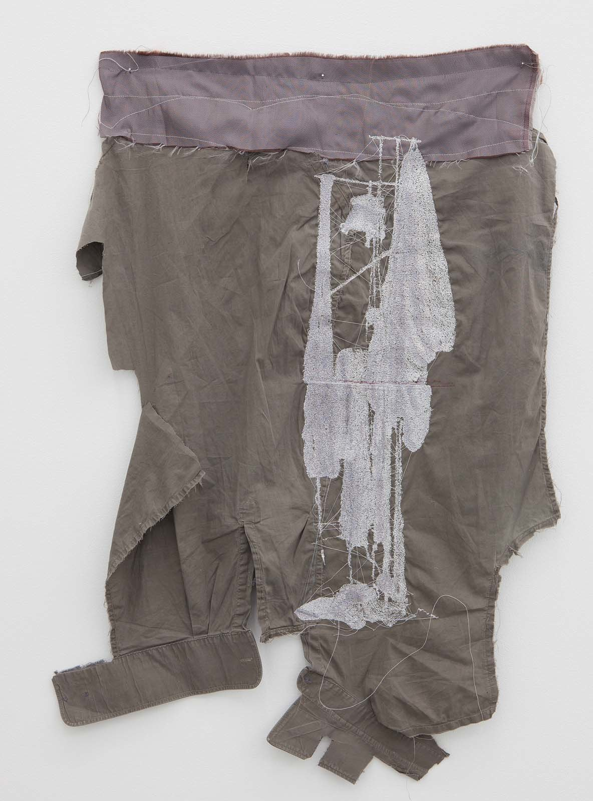 Misfit, 2010, embroidery on various textiles