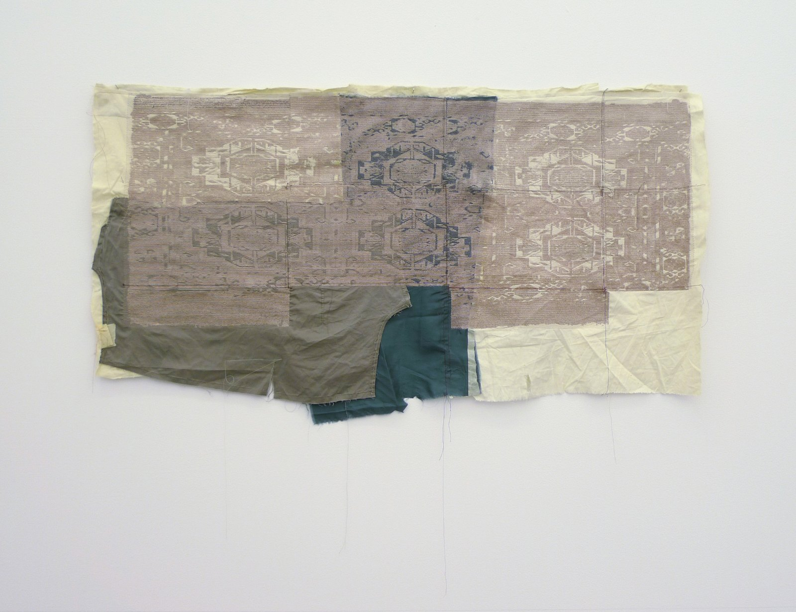 Torba, Tekke, 2010, embroidery on various textiles