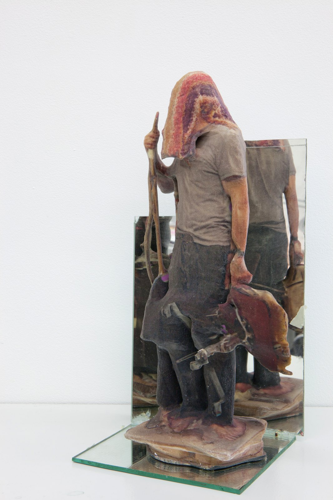 Kontrapost. In Order to do Good, 2010, 3D print, mirror