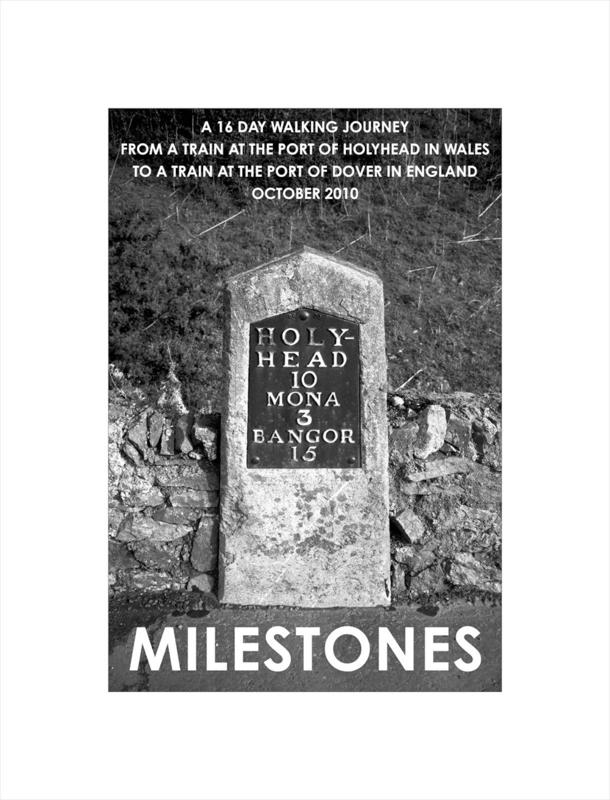 Milestones, Wales England, 2010, giclée print, 56,5 x 43 cm