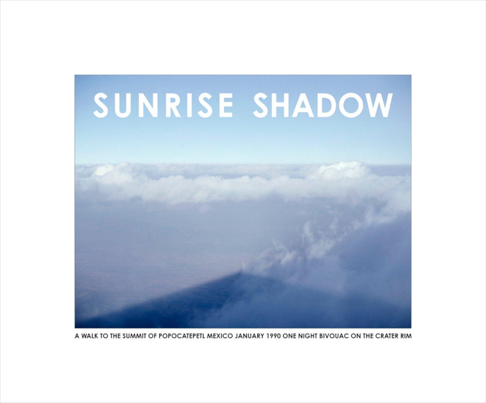 Sunrise Shadow, Mexico 1990 ,giclée print, 43 x 52 cm