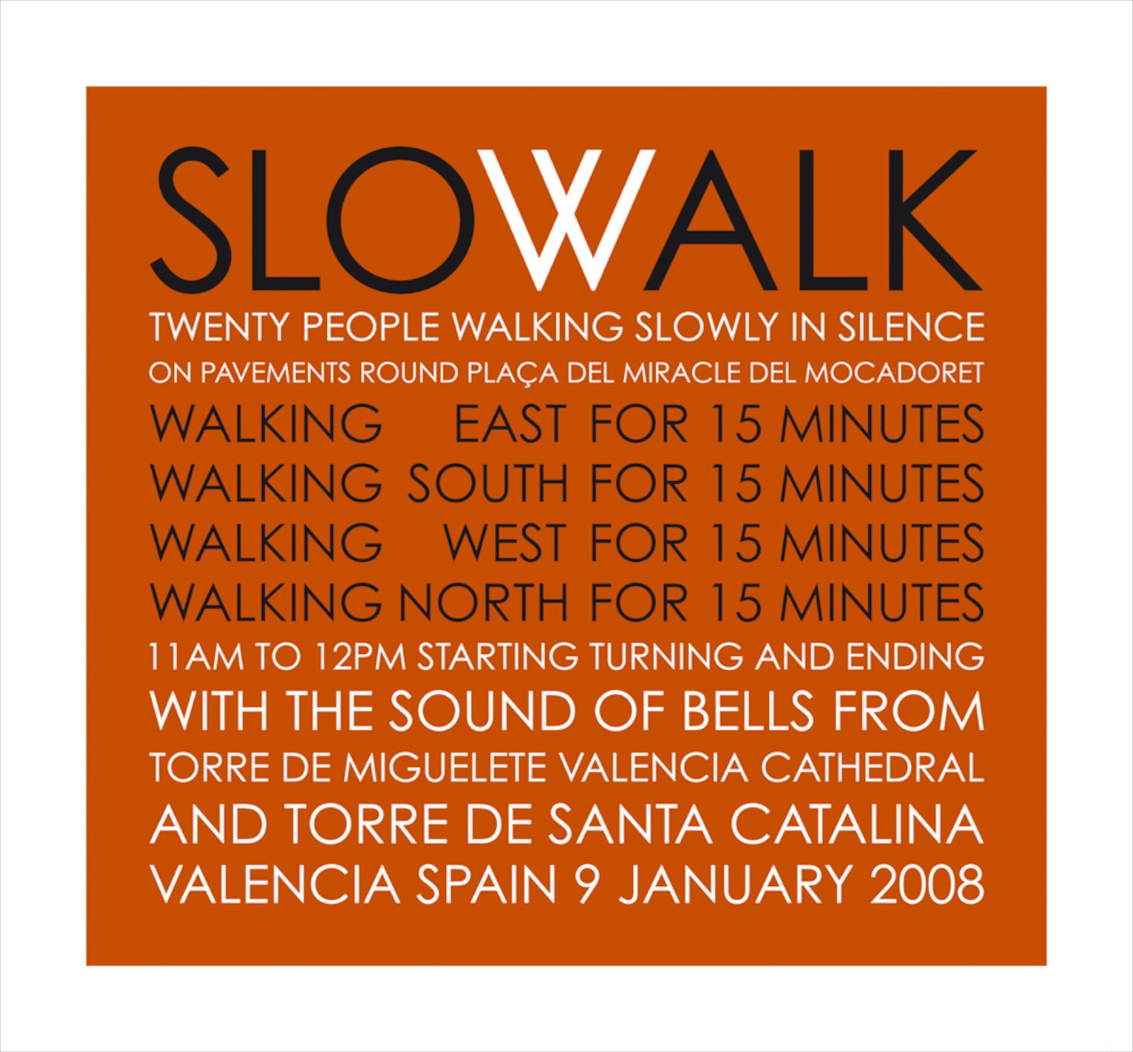 Slowalk, Valencia Spain, 2008 ,Giclée print, 61 x 65,5 cm