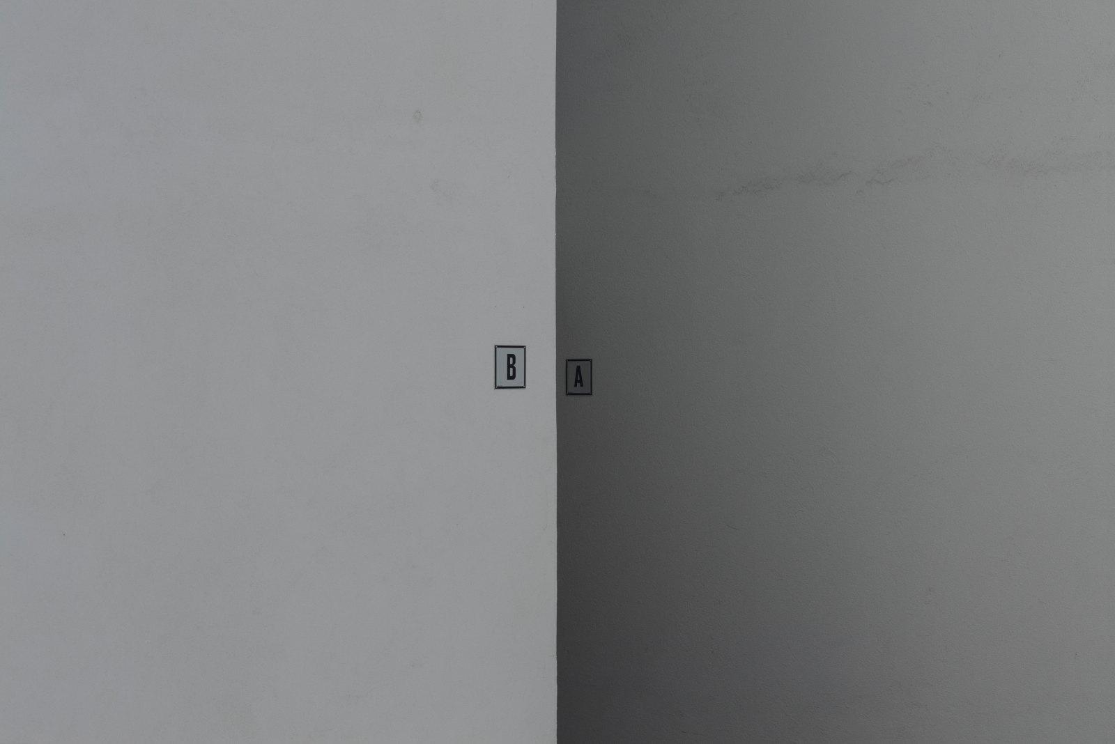 A follows b, 2010, giclée print, aluminium, 124,2 x 185,2 cm
