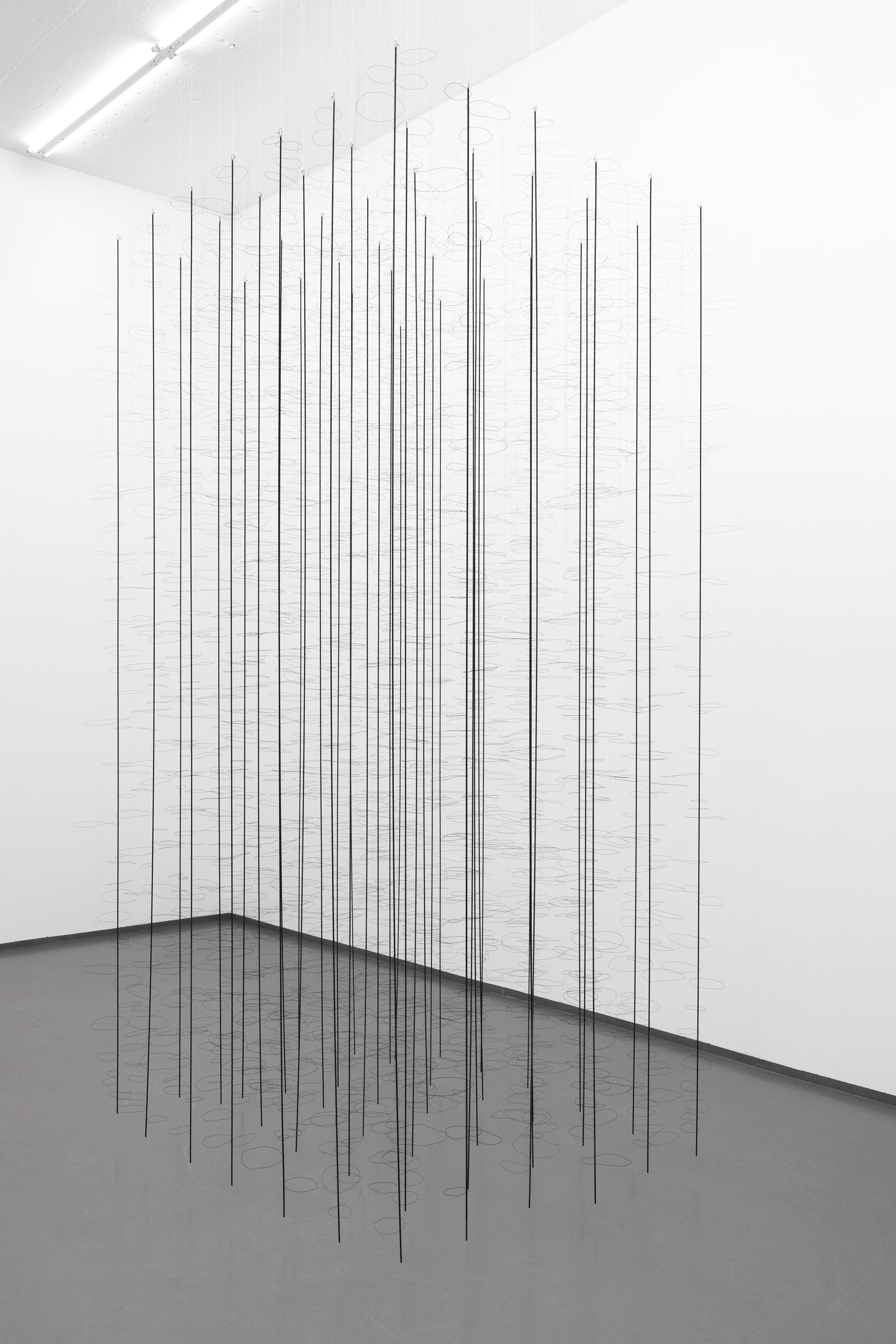 Sculpture I, 2010, steel, 300 x 155 x 180 cm