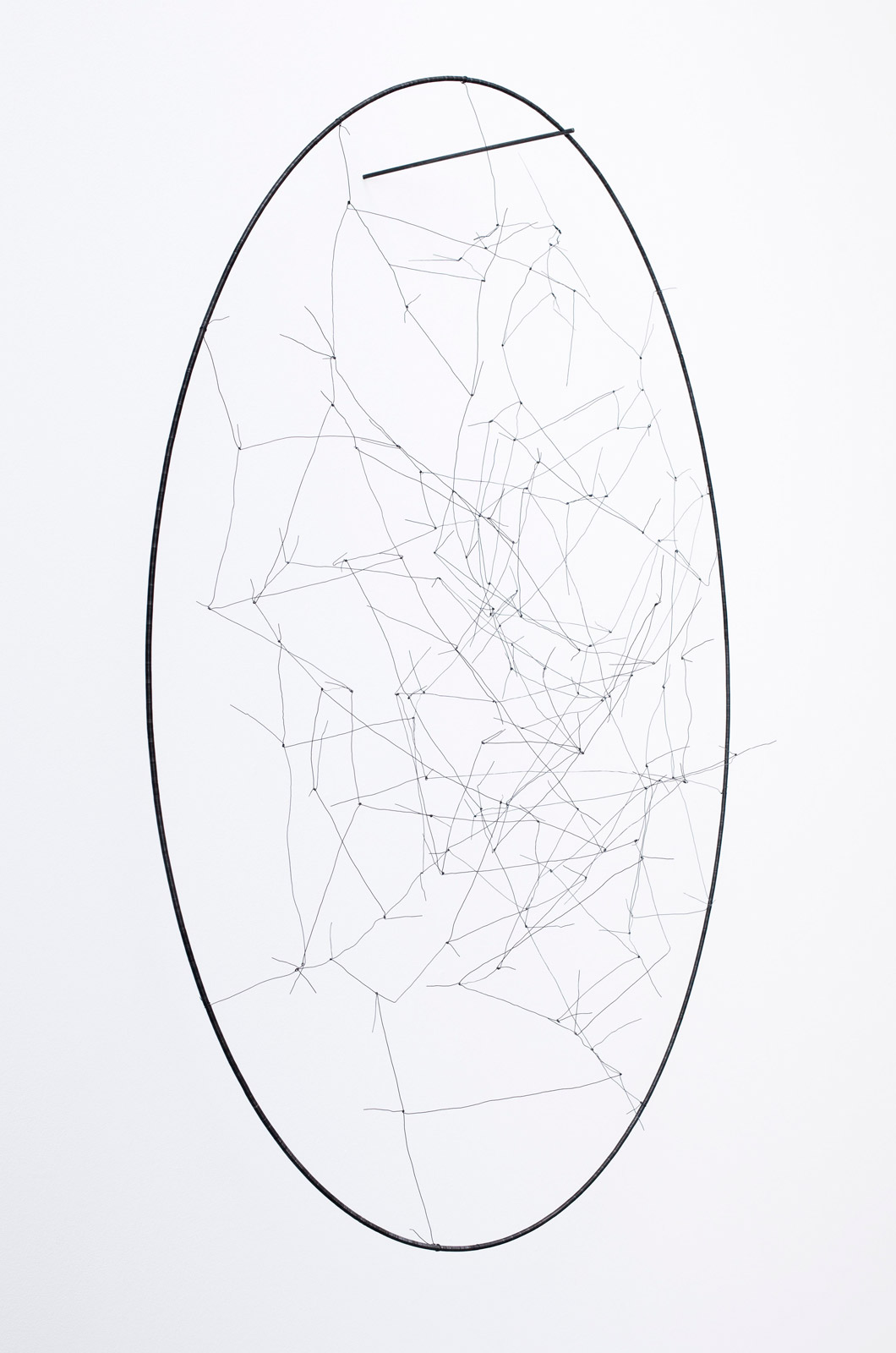 Sculpture II, 2010, steel, 134 x 118 x 48 cm