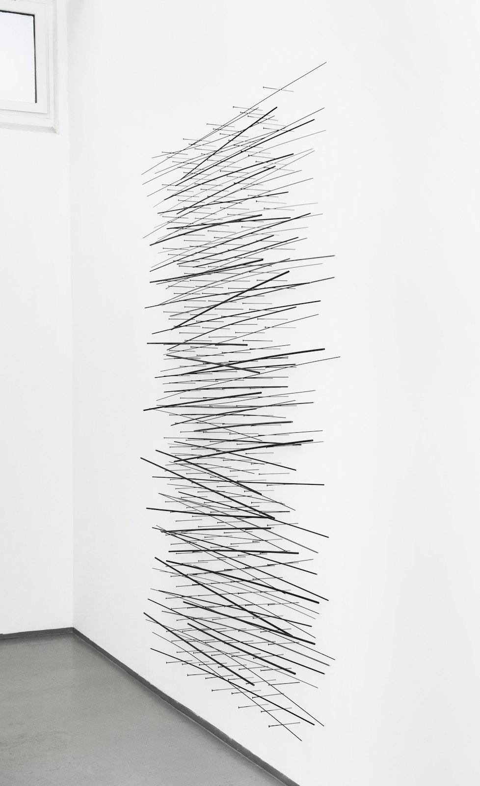 Sculpture, 2009-2010, steel, 272 x 200 x 18 cm