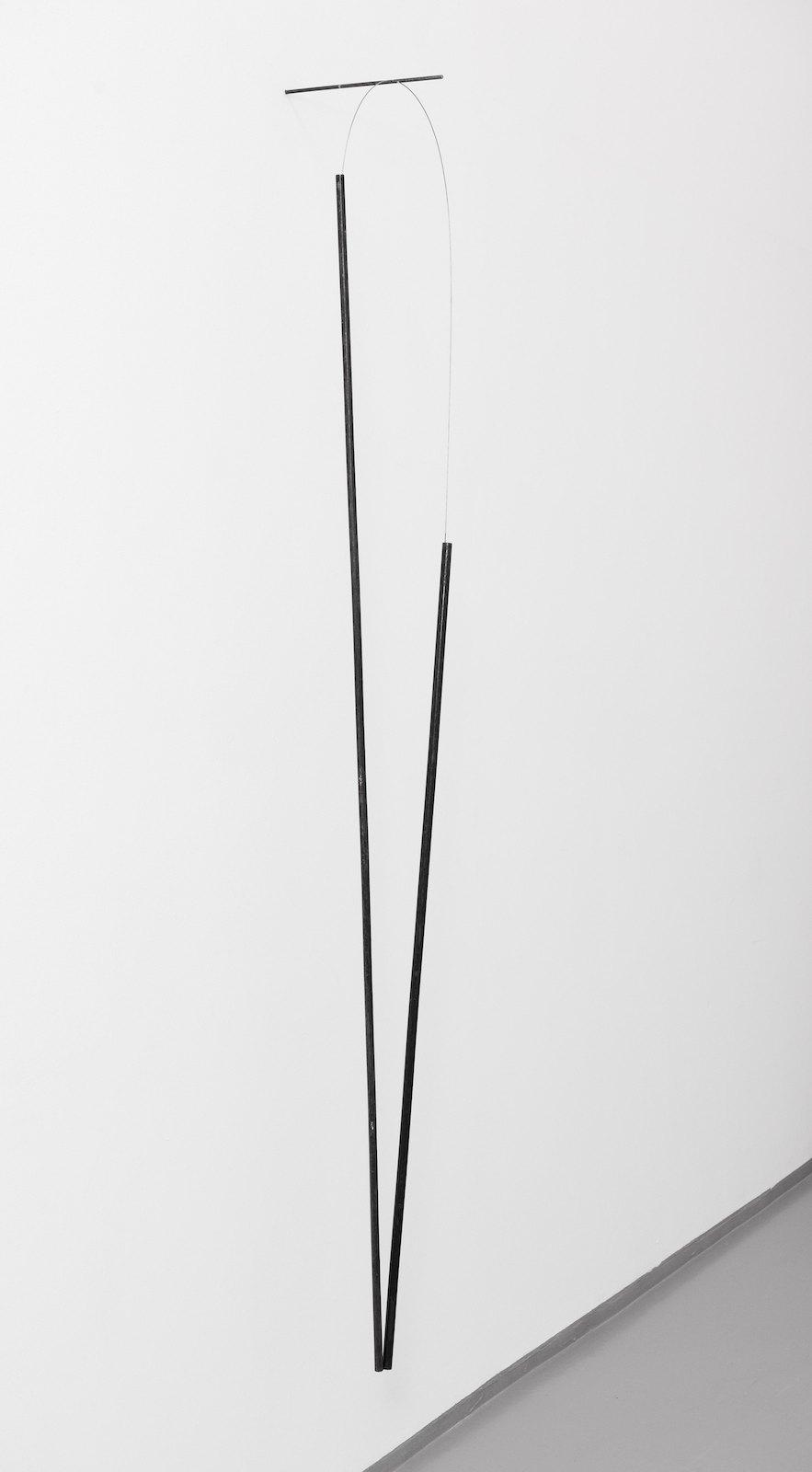 Sculpture III, 2010, steel, 200 x 25 x 28 cm