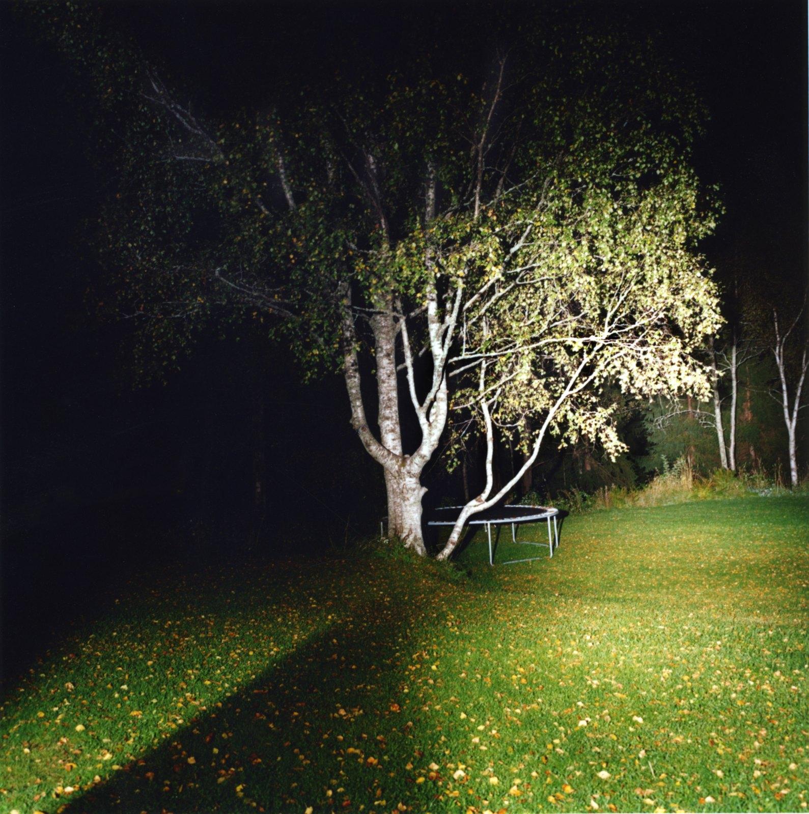 Dark jump, 2011, C-print, 100 x 100 cm