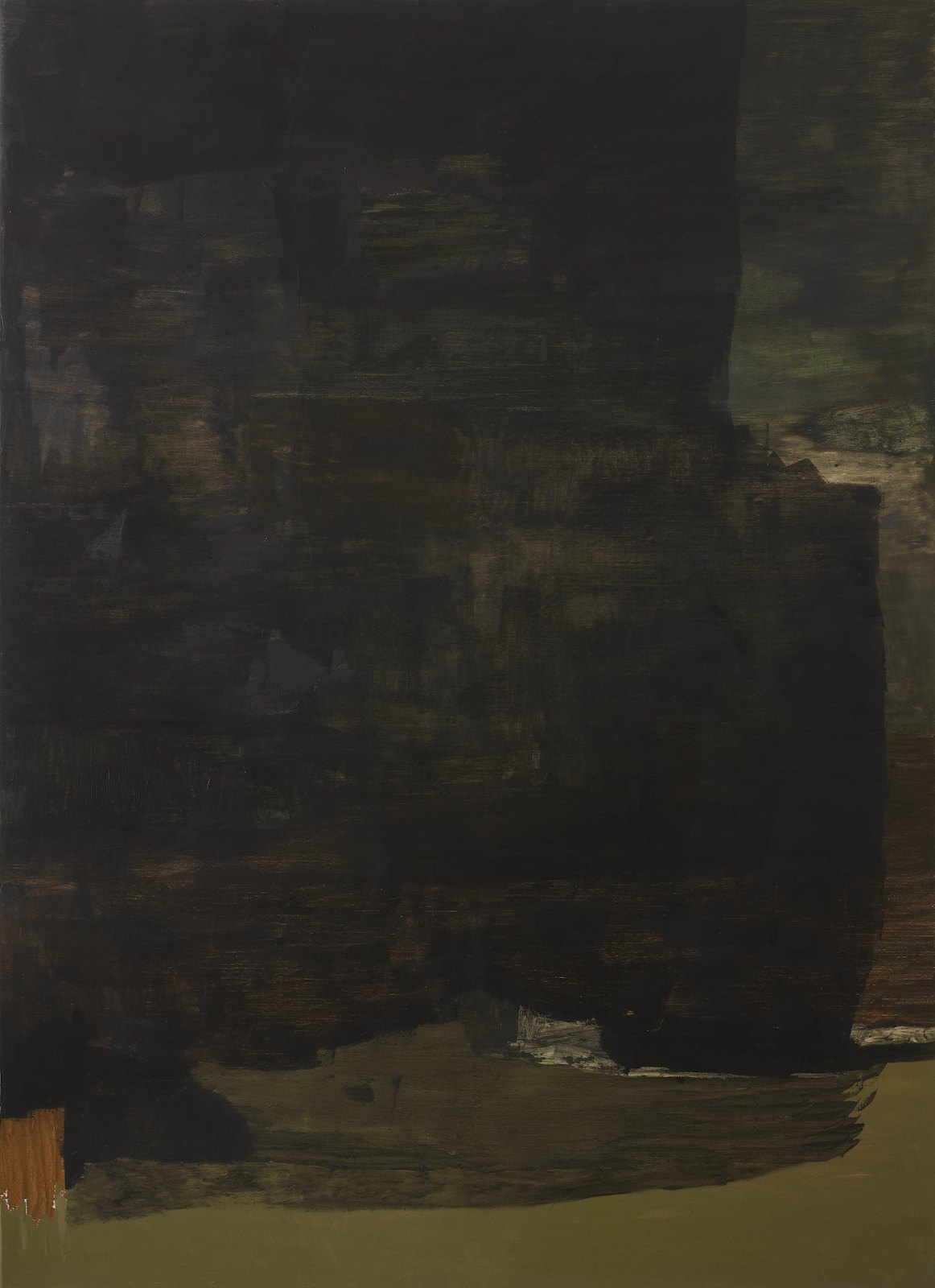 Untitled, 2011, oil on canvas, 282 x 205 cm