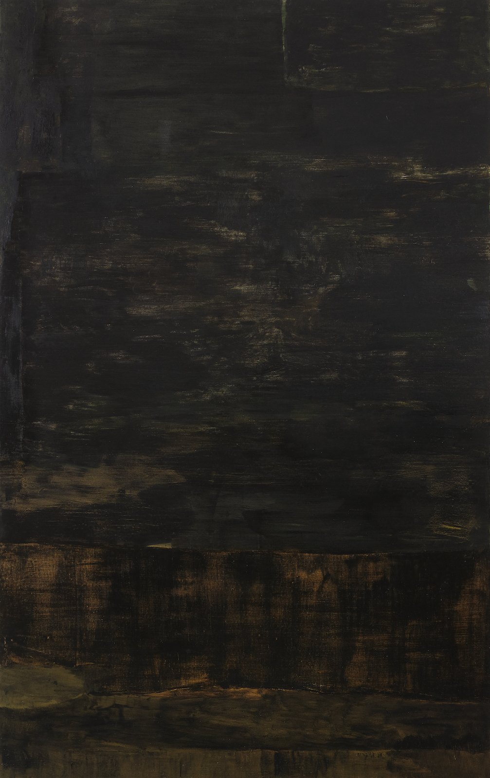 Untitled, 2011, oil on canvas, 287 x 180,5 cm
