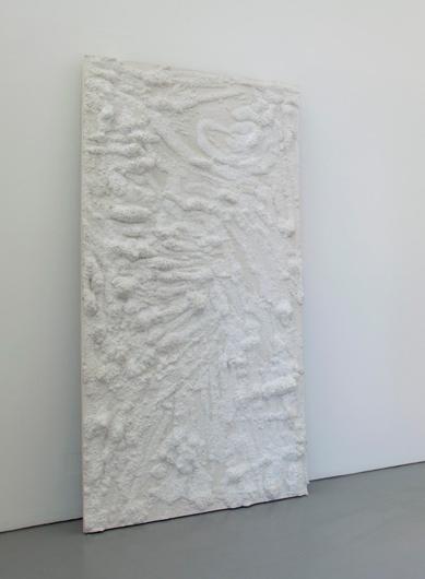 Untitled, 2011, plaster, 240 x 120 x 12 cm