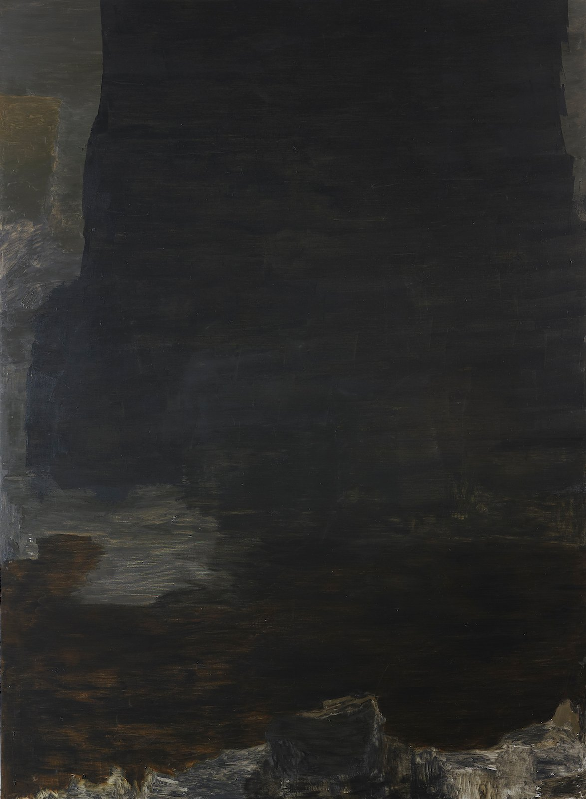 Untitled, 2011, oil on canvas, 278 x 203 cm