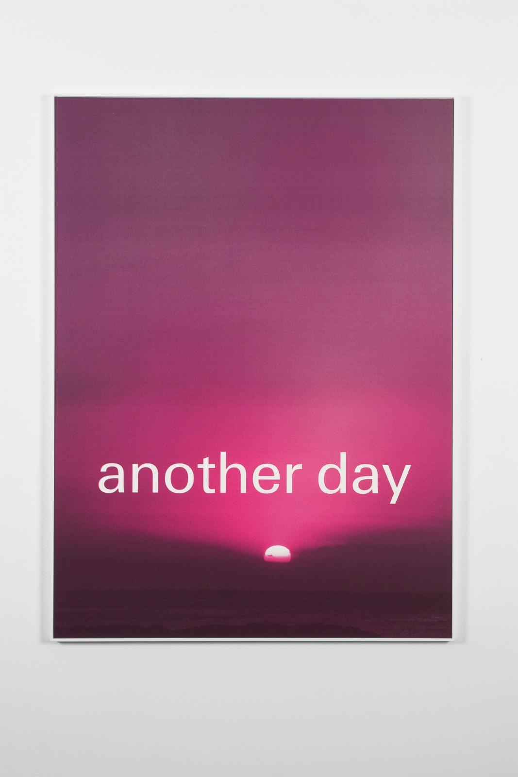 Another Day, 2011, silkscreen on papir, framed, 110 x 80 cm. Ed. 50