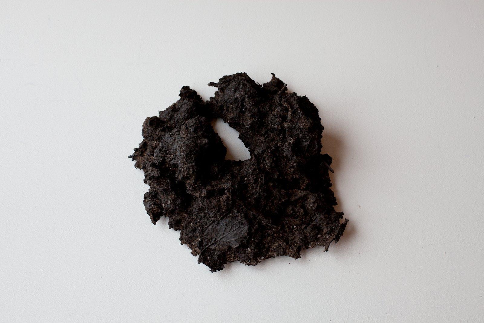 Sorkhög (Molehill) #11, 2011, 8,5 x 26,5 x 28 cm, bronze, unique